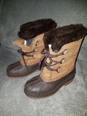 Sorel snow boots kids size 2 for Sale in El Cajon, CA