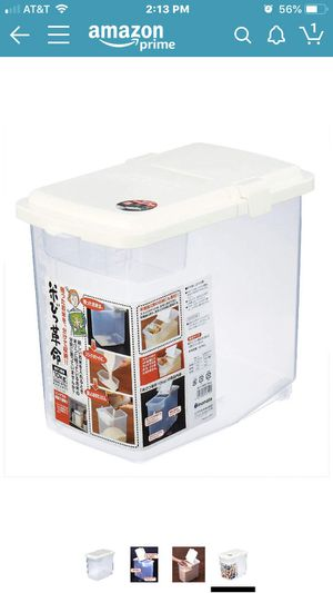 Rice Storage Container for Sale in Las Vegas, NV