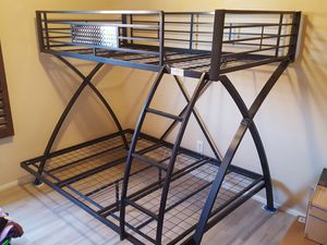 Steel Bunk bed, new, twin over full. for Sale in Chandler, AZ