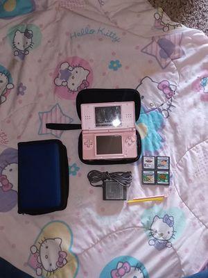 Nintendo DS Lite + extras for Sale in Lodi, CA