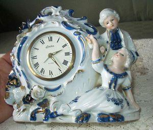 Antique Linden China Alarm Clock for Sale in Framingham, MA