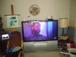 55' JVC plasma projection TV for Sale in Clackamas, OR
