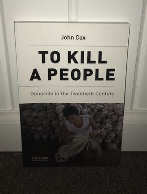 To Kill a People by John Cox for Sale in Hillsdale, NJ