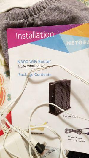 Power adapter for netgear N300 Router for Sale in Billings, MT