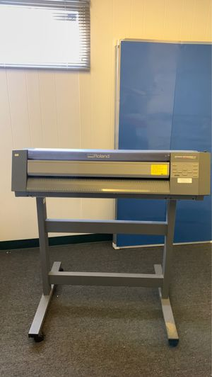 "Roland Colorcamm Pc-600 24"" Thermal Transfer Printer/cutter for Sale in Los Angeles, CA"