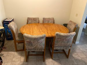 6 chair kitchen table for Sale in San Diego, CA