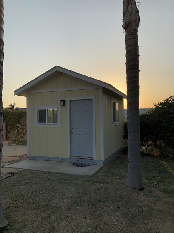 12' x 10' Tuff shed- Office