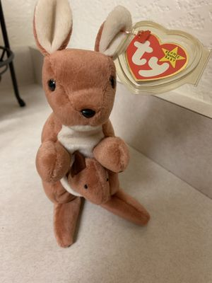 TY POUCH RETIRED Beanie Baby 1996 for Sale in Everett, WA