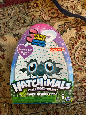 Hatchimals sweet smelling 6-pack target exclusive for Sale in Beaverton, OR