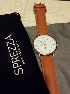 NICE LEATHER BAND WATCH for Sale in Springfield, VA