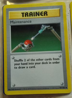 Pokemon Base Set 1st Edition Shadowless Maintenance 83/102 make offer for Sale in Fenton, MO