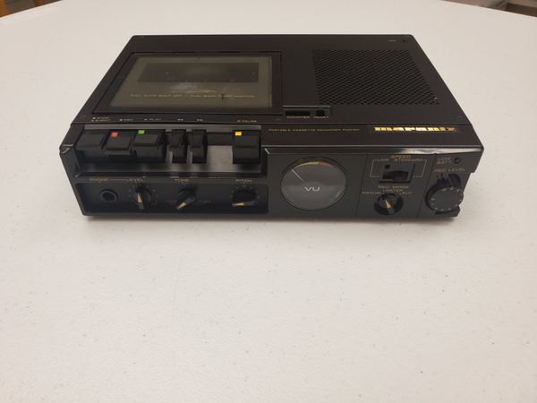 Marantz PMD201 Portable Cassette Recorder