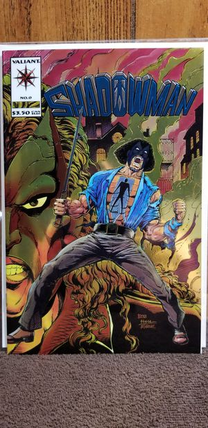 SHADOWMAN #0 First Print Valiant Comic for Sale in Olivette, MO