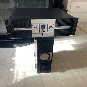 2000 Watts DJ power amplifier for Sale in Derby, CT
