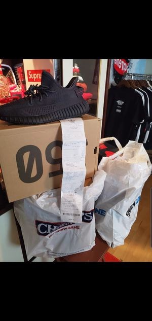 JORDAN, NIKE, BAPE, ADIDAS, YEEZYS, SUPREME ADIDAS YEEZY BLACK STATIC V2 (NON-REFLECTIVE)1 SIZE 10.5,1 SIZE 11 & SIZE 12 RECEIPT INCLUDED ALMOST GONE for Sale in Stafford, TX