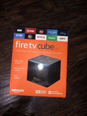 Amazon fire tv Cube for Sale in Corsicana, TX