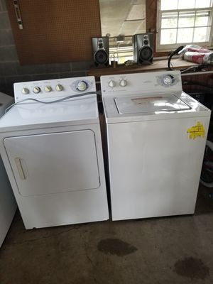 Washer and dryer ge good working conditions for Sale in Woodbridge, VA