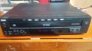 RCA five disk CD changer for Sale in Williamsburg, MI
