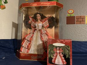 1997 Holiday Barbie and Matching Hallmark Ornament for Sale in Phoenix, AZ
