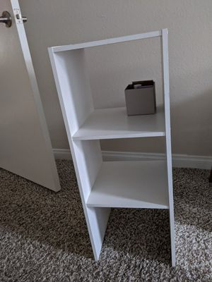 1 White side shelf for Sale in Glendale, CA