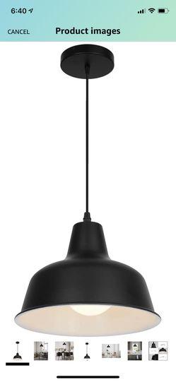 Black Industrial Pendant Lights for Sale in La Habra Heights,  CA