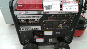 Power Kohler Triad 3 in 1 Generator/Compressor/Welder for Sale in Abilene, TX
