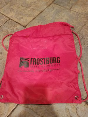 NEW FROSTBURG STATE UNIVERSITY BACKPACK for Sale in Cumberland, MD