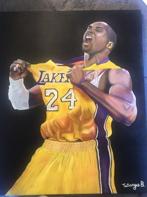 Kobe Bryant Painting for Sale in Waterbury, CT