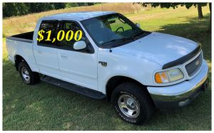✅$1,OOO I'm selling my URGENTLY 2OO2 Ford F-15O Nice Family truck XLT Super Crew Cab 4-Door Pickup Runs and drives very smoothV8✅ for Sale in Oakland, CA