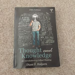 thought and knowledge by diane f halpern for Sale in City of Industry, CA