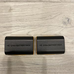 DSLR Pack Of 2 Li-ion Batteries for Sale in Brooklyn, NY