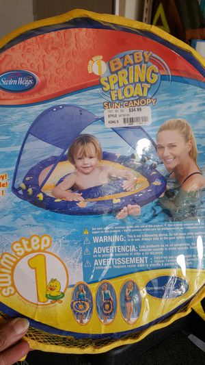 Baby pool float with canopy for Sale in Leesburg, VA