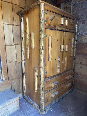 Rustic Armoire/ TV Hutch for Sale in Lakeside, AZ