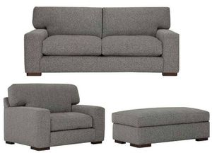 Like New Down-Filled Set - Sofa+Dbl Chair+Ottoman for Sale in Miami Beach, FL