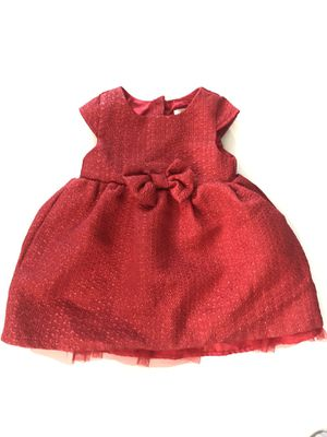 Red 12m baby girl kid dress. Vestido rojo para nenas bebes 12 meses. Christmas. navidad. Clothes. Ropa. for Sale in Miami, FL