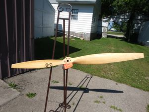 Wood Propeller - 5 feet 8 inches long for Sale in Eureka, WI