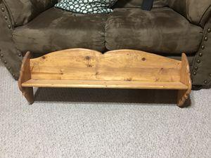 Wall shelf wood for Sale in Lakeside, AZ