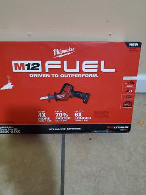 Hackzall Milwaukee fuel 12v for Sale in South Gate, CA