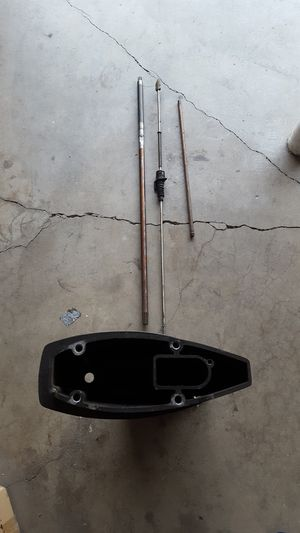 Mercury 25HP outboard long shaft parts this is all parts needed to make a short shaft into a long shaft for Sale in Sacramento, CA