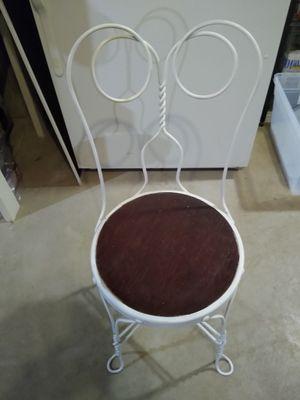 Wrought iron chair for Sale in North Tonawanda, NY