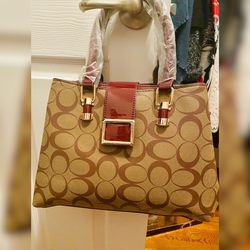 Monogrammed Staffiano Leather Satchel Tote Handbag for Sale in Lorton,  VA