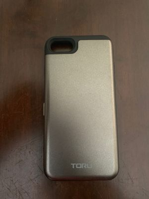 iPhone 8 case with cardholder for Sale in Lancaster, TX