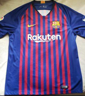 Nike FC Barcelona jersey for Sale in Dallas, TX