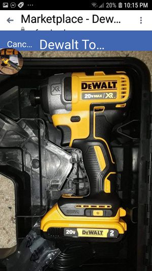 Dewalt xr impact w battery for Sale in Lenexa, KS