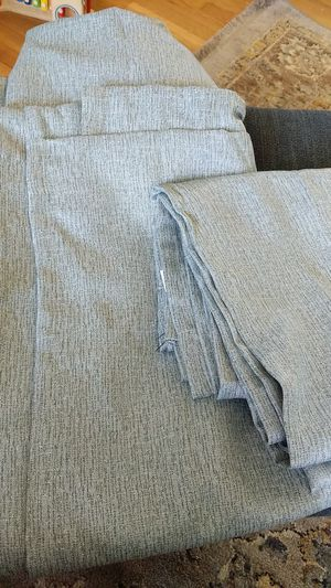 Light green curtains (set of 2) for Sale in Fairfax, VA