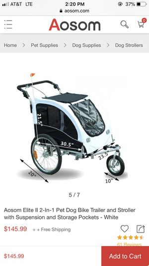 Dog stroller / bike trailer for Sale in Miami, FL