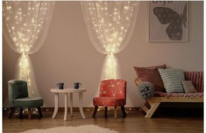 Window Curtain Lights for Party Wedding Home Patio Lawn Garden, Warm White for Sale in Los Angeles, CA