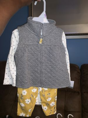 Carter baby girl (new) clothes sz9 months for Sale in Berwyn Heights, MD