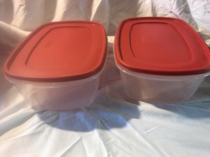 Rubbermaid Food storage containers for Sale in Garfield Heights, OH
