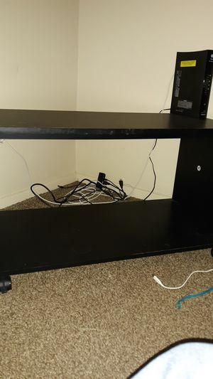 TV Stand with Wheels for Sale in Tulsa, OK